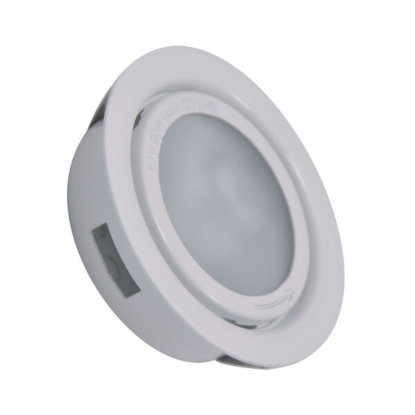 Cornerstone 3-inch White Aurora 1-light Recessed Disc Light