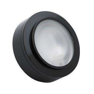 Cornerstone 3-inch Black Aurora 1-light Xenon Disc Light