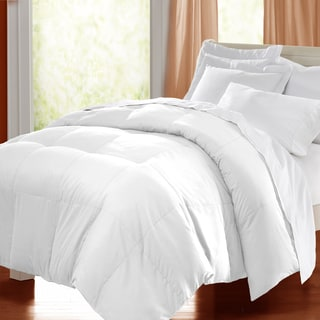 kathy ireland HOME Microfiber Lightweight White Down Comforter