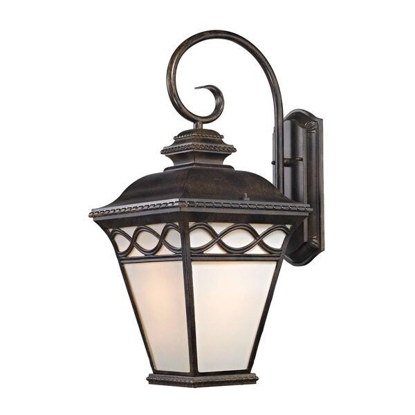Cornerstone 24-inch Hazelnut Bronze Mendham 1-light Coach Lantern