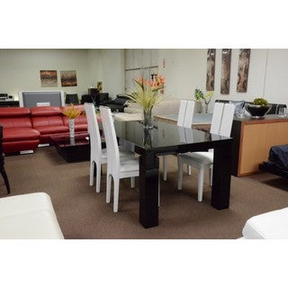 Modrest Escape Black Gloss Dining Table