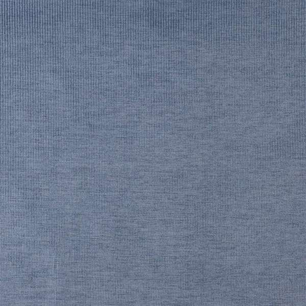 D205 Dark Blue Thin Striped Woven Velvet Upholstery Fabric By The Yard