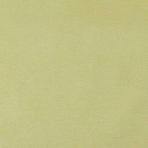 D207 Lime Green, Thin Striped Durable Woven Velvet Upholstery Fabric By The Yard
