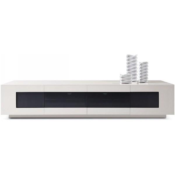 Modrest Frost Modern Glossy Grey TV Unit