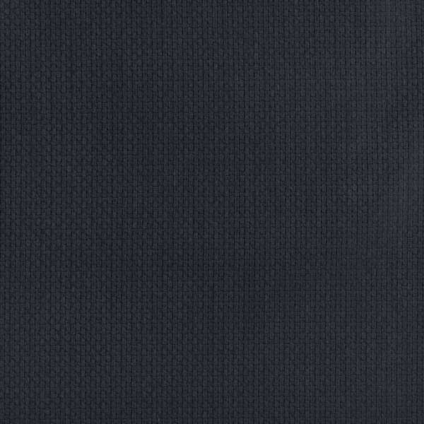 D347 Navy Blue Basket Weave Jacquard Woven Upholstery Fabric (By The Yard)