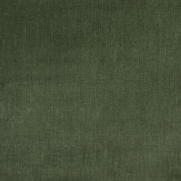 Dark Green Textured Grid Microfiber Upholstery Fabric (By The Yard)