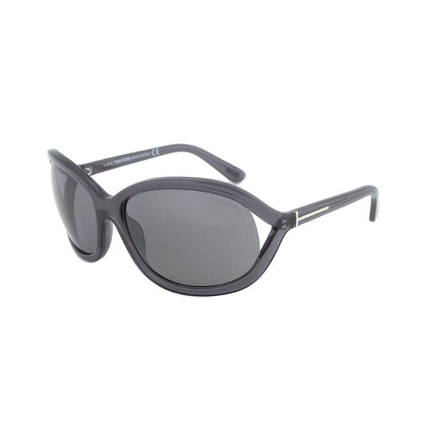 Tom Ford FT0278 50R Vivienne Womens Sunglasses - Charcoal Frame and Grey Polarized Lens