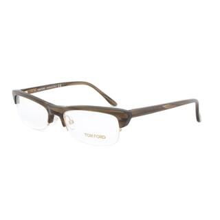 Tom Ford FT5133 045 Beige Horn Eyeglass Frames - Size 52
