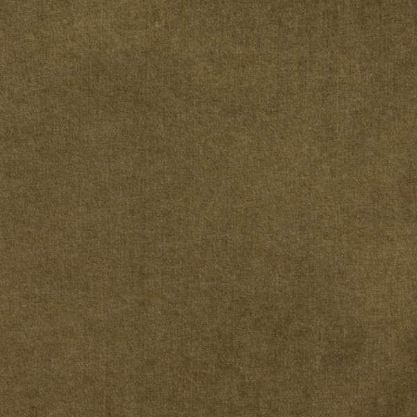 E002 Brown Preshrunk Washed Jean Denim Fabric (By The Yard)