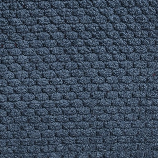 E147 Chenille Blue Upholstery Fabric (By The Yard)
