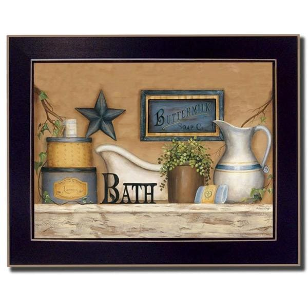 Buttermilk Soap' Framed Art