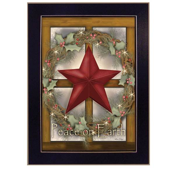 Peace on Earth' Framed Art