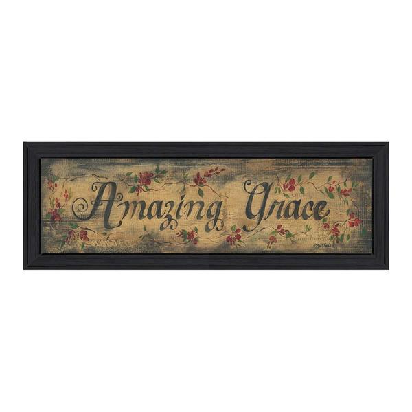 Amazing Grace' Framed Art