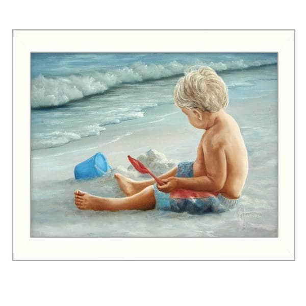 In the Sand' Framed Art