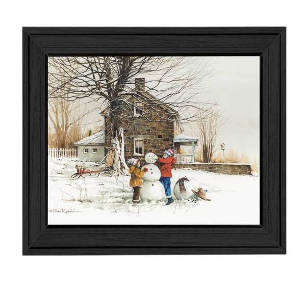 The Joy of Snow' Framed Art