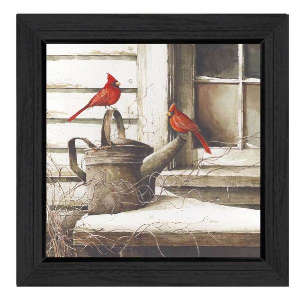 Waiting for Spring' Framed Art