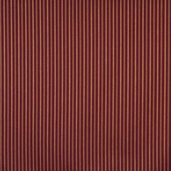 F756 Burgundy Red Striped Heavy Duty Stain Resistant Crypton Fabric By The Yard