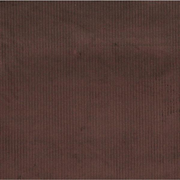 Dark Brown Corduroy Striped Velvet Upholstery Fabric (By The Yard)