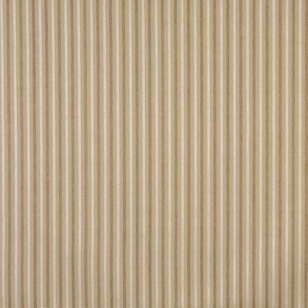 Beige, Striped Crypton Contract Grade Upholstery Fabric By The Yard