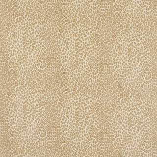 E401 Beige Leopard Animal Print Microfiber Upholstery Fabric (By The Yard)