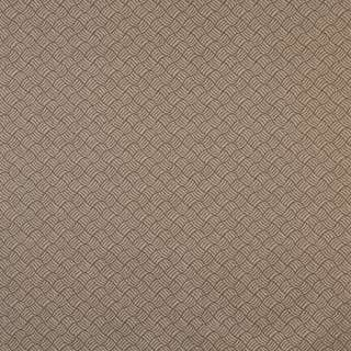 F764 Brown Geometric Heavy Duty Stain Resistant Crypton Fabric By The Yard