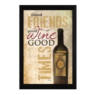 Good Wine' Framed Art