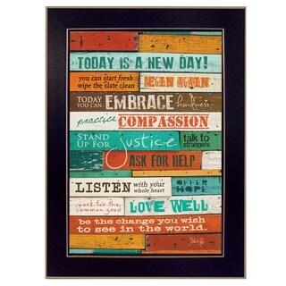 A New Day' Framed Art