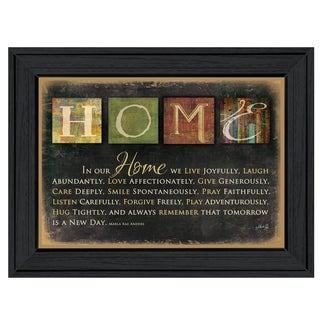 'In Our Home' Framed Wall Art