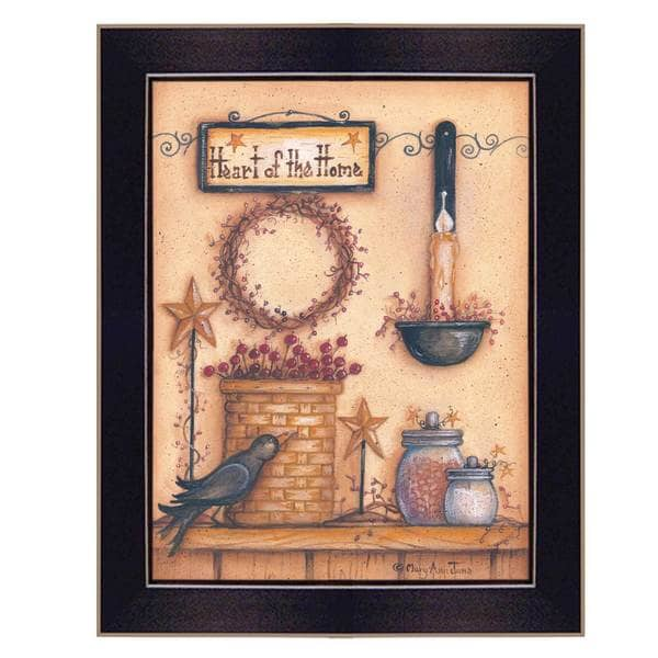 Heart of the Home' Framed Art