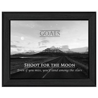 'Goals' Framed Art
