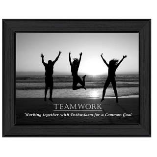 Teamwork Framed Art