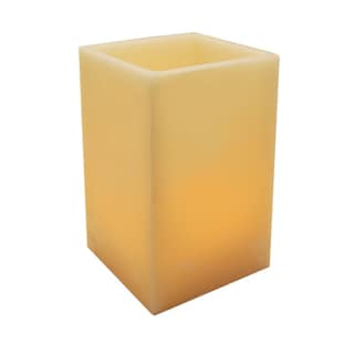Wax Luminaria Square Candle