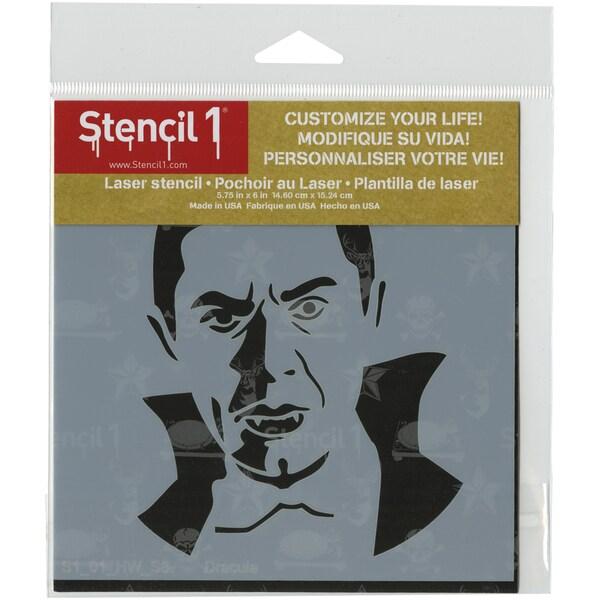 Stencil1 6inX6in Stencil Dracula