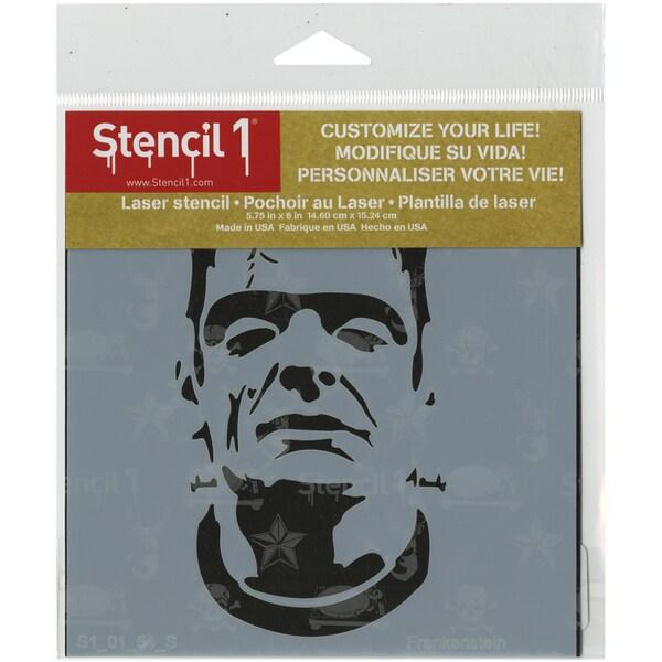 Stencil1 6inX6in Stencil Frankenstein