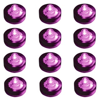 Submersible LED Lights - Purple (Set of 12)