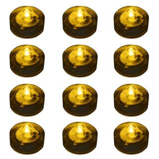Submersible LED Lights - Amber (Set of 12)