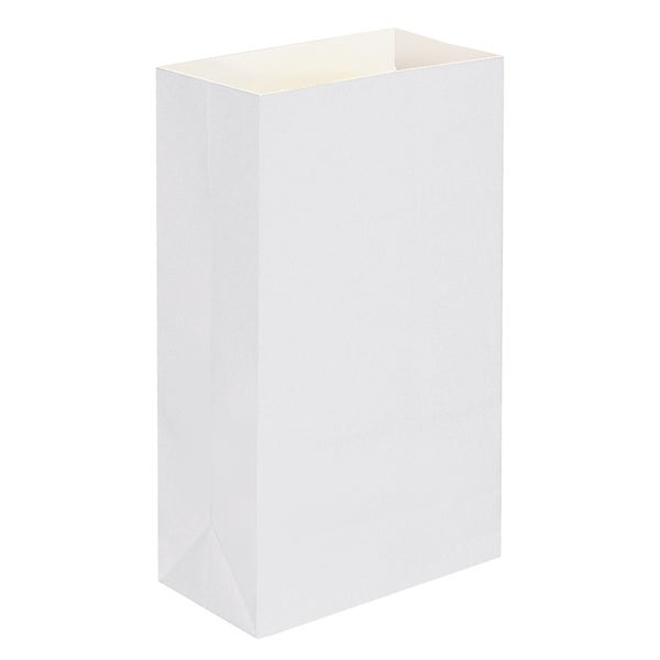 Paper Luminaria Bags - White - 100 Count