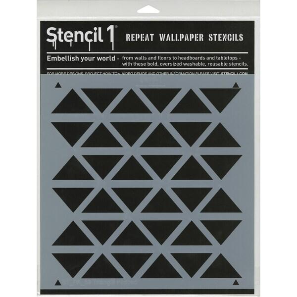 Stencil1 11inX11in Stencil Triangles Flipped