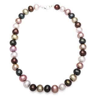 Effy Final Call 925 Sterling Silver Multicolor Necklace with Bonus designer zipper pouch