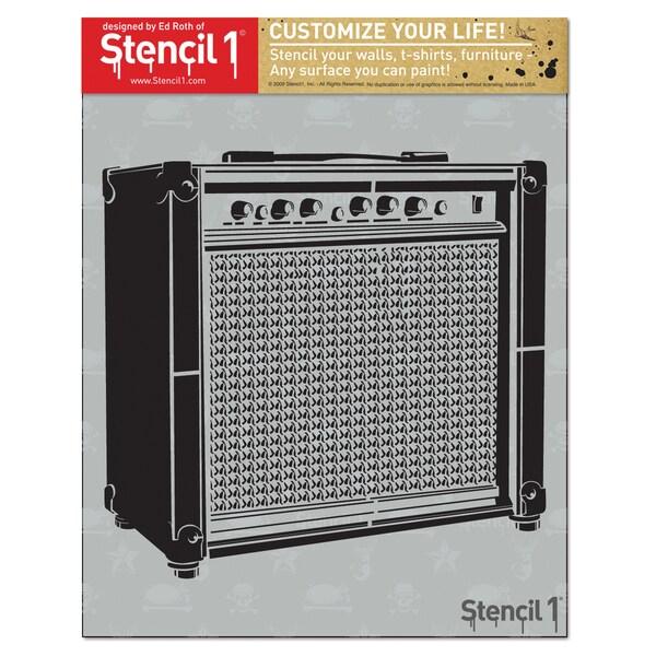Stencil1 8.5inX11in Stencil Amp