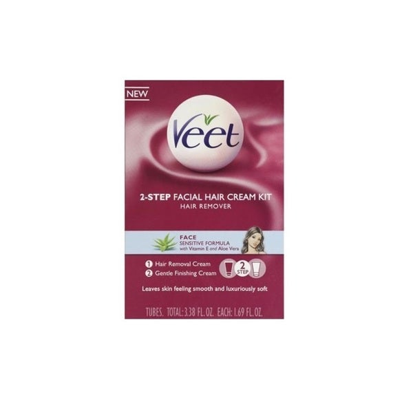 Veet 3.38-ounce Facial Hair Remover Cream Kit