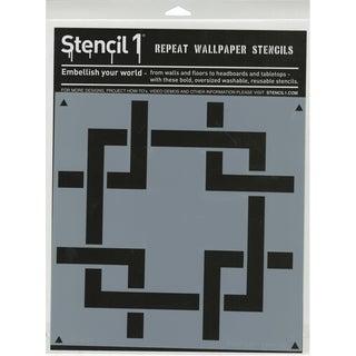 Stencil1 11inX11in Stencil Square Lattice