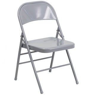 Orchid Grey folding chairs