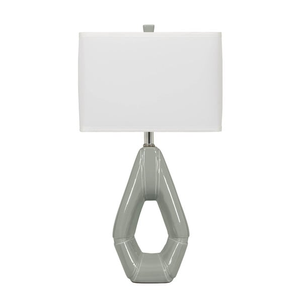 Grey Ceramic Table Lamp