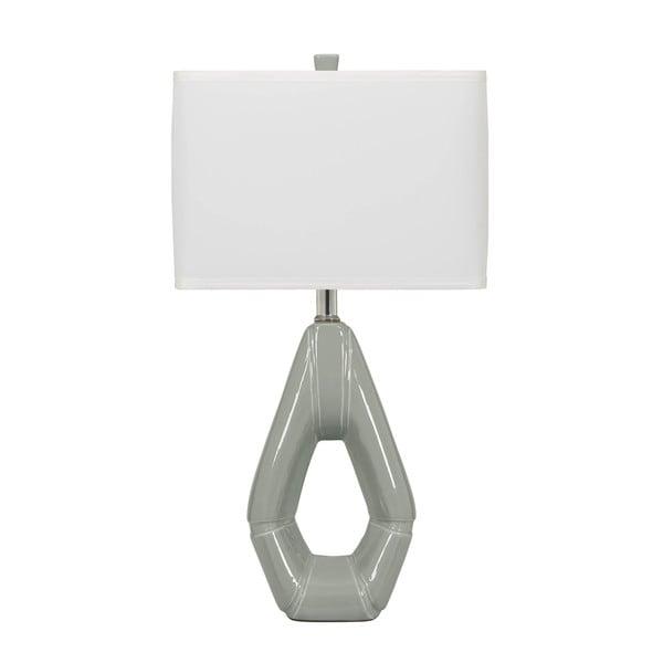 Grey Ceramic Table Lamp