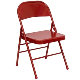 Orchid Red folding chairs