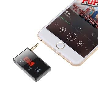 Patuoxun 3.5mm Wireless Car FM Transmitter for Portable Media Players