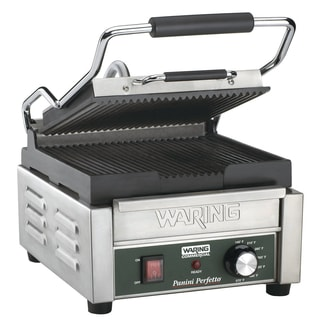 Waring Commercial WPG150 Compact Italian-Style Panini Grill, 120-volt (Refurbished)