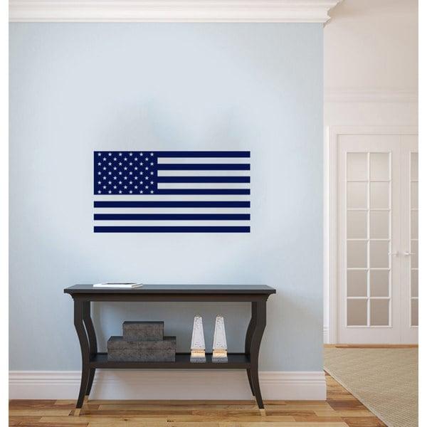 US Flag Vinyl Sticker Wall Art 15654827