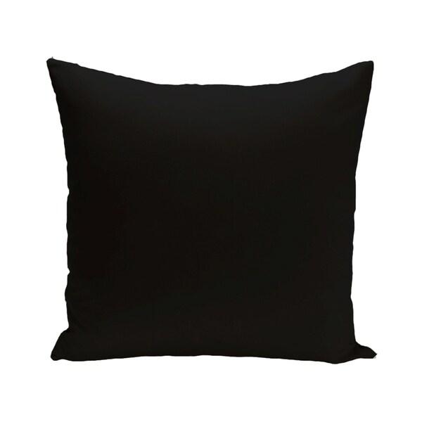 Solid Print Blue/ Black/ Grey/ Green/ Yellow/ Purple/ Orange/ Brown 28-inch Decorative Indoor Floor Pillow
